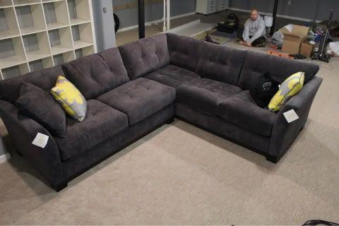 Featured Image of Charcoal Gray Sectional Sofas