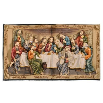 "Charlton Home ""the Last Supper"" 3 D Plaque Wall Décor & Reviews In The Last Supper Wall Art (Image 3 of 20)"