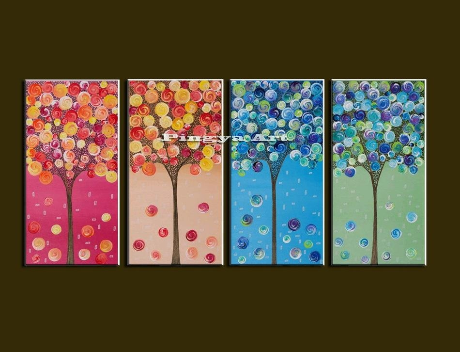Cheap Canvas Art Sets Home Painting Inside 4 Piece Wall Art Sets (View 17 of 20)