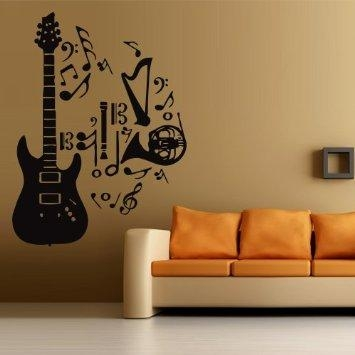 Cheap Music Note Wall Decals, Find Music Note Wall Decals Deals On In Music Note Art For Walls (View 12 of 20)