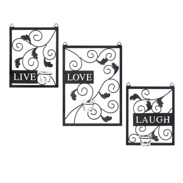 Cheap Wall Art And Free Shipping At Bargain Bunch With Regard To Live Love Laugh Metal Wall Decor (Image 7 of 20)