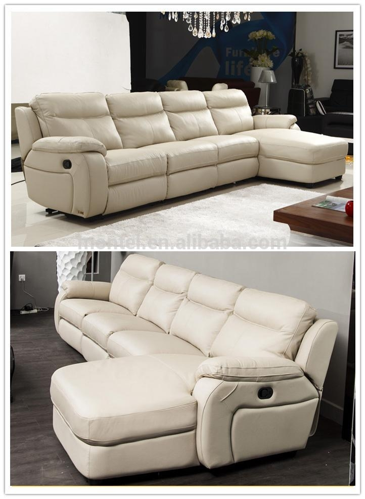 Cheers Furniture Electric Leather L Shape Sofa With Recliners Within Cheers Sofas (Image 5 of 20)