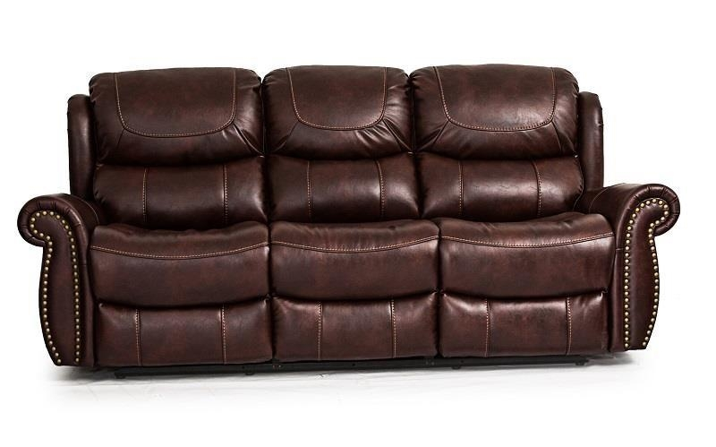 Cheers Sofa Tobacco Reclining Sofa – Great American Home Store Inside Cheers Sofas (Image 16 of 20)