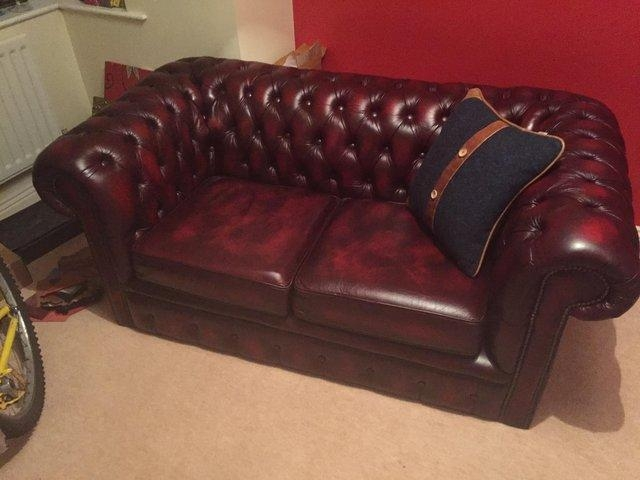 Red Leather Chesterfield Chairs Sofa Ideas