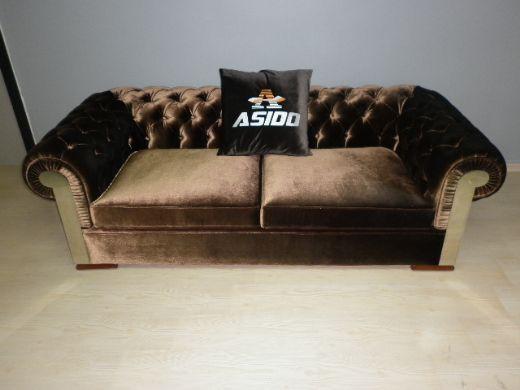 Chesterfield Sofas – Interior Design Inside Brown Velvet Sofas (Image 12 of 20)