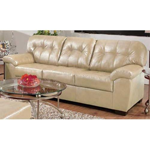 Chic Simmons Bonded Leather Sofa Simmons Soho Bonded Leather Sofa Inside Simmons Bonded Leather Sofas (Image 7 of 20)