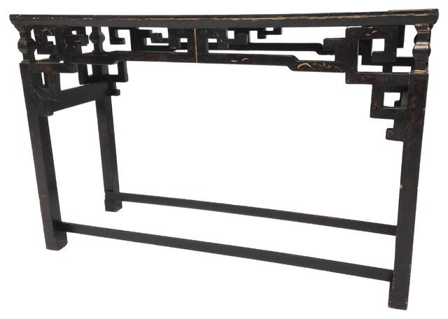Chinoiserie Console Sofa Table With Regard To Asian Sofa Tables (Image 12 of 20)