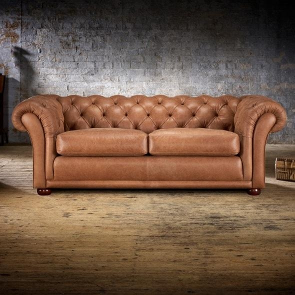 Churchill 3 Seater Sofa – From Timeless Chesterfields Uk Throughout Churchill Sofas (View 8 of 20)