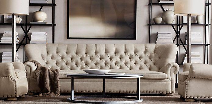 Churchill Fabric Sofa | Restoration Hardware I Want This Whole Within Churchill Sofas (View 9 of 20)