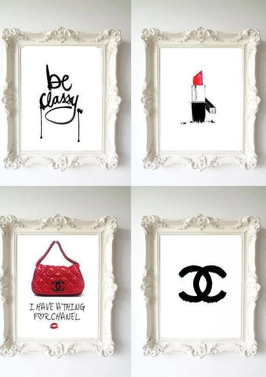 Classy Chanel Wall Art Prints For Classy Wall Art (Image 9 of 20)