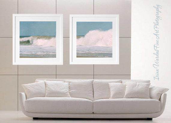 Coastal Prints | Surf Wall Art Decor | Ocean Photography Art Set In Coastal Wall Art (Image 14 of 20)