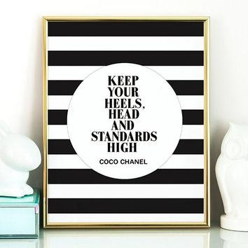 Coco Chanel Wall Art Cute Metal Wall Art On Framed Wall Art – Home Throughout Coco Chanel Quotes Framed Wall Art (View 4 of 20)