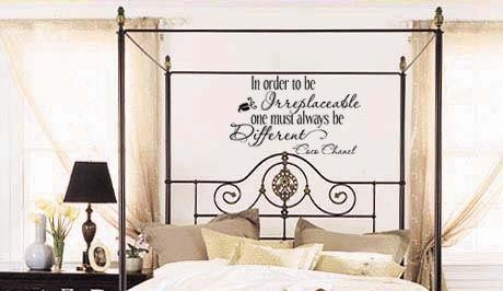 Coco Chanel Wall Quotes – Trading Phrases Throughout Coco Chanel Wall Decals (Image 10 of 20)
