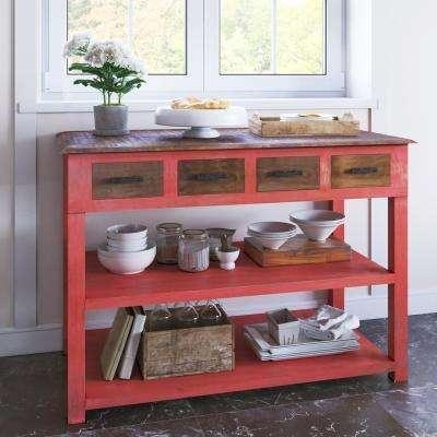 Coffee Table – Red – Accent Tables – Living Room Furniture – The Regarding Red Sofa Tables (View 9 of 20)