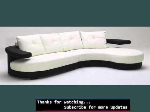Collection Of Modern Sofas & Modern Couches | Modern Couches – Youtube With Regard To Modern Sofas (View 15 of 20)