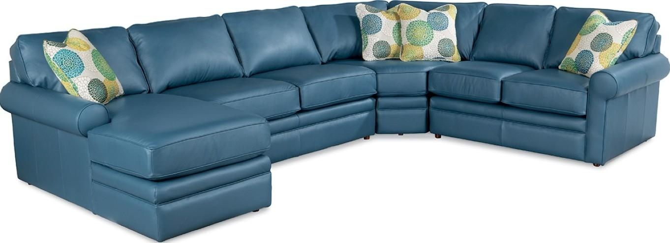 Collins Sectional Sofa – Town & Country Furniture Pertaining To Blue Leather Sectional Sofas (Image 10 of 20)