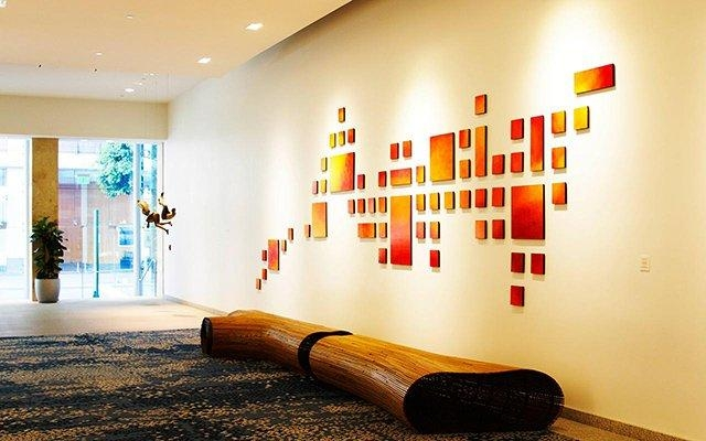 Commercial Wall Sculpture | Art Installation | Painting Wood Wall With Commercial Wall Art (Image 8 of 20)