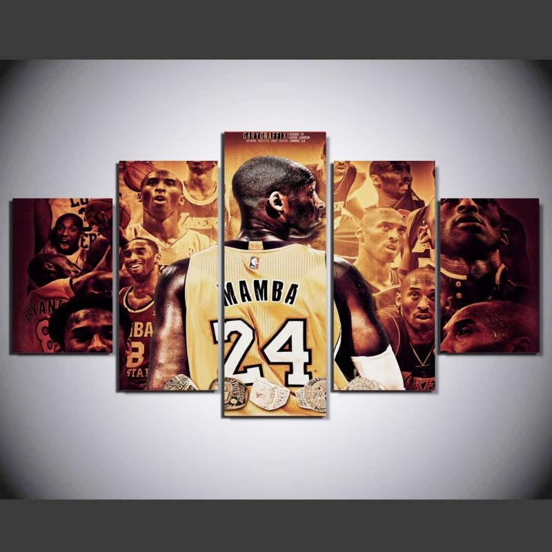 Compare Prices On Basketball Wall Art Online Shopping/buy Low In Nba Wall Murals (View 2 of 20)