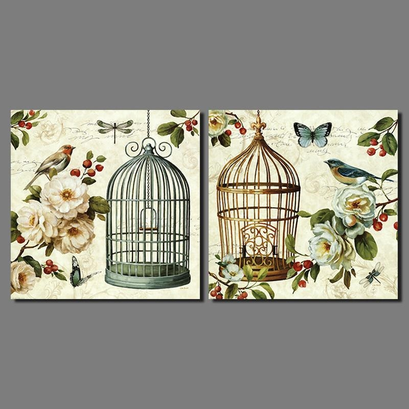 Compare Prices On Birdcage Wall Art Online Shopping/buy Low Price Intended For Metal Birdcage Wall Art (View 18 of 20)