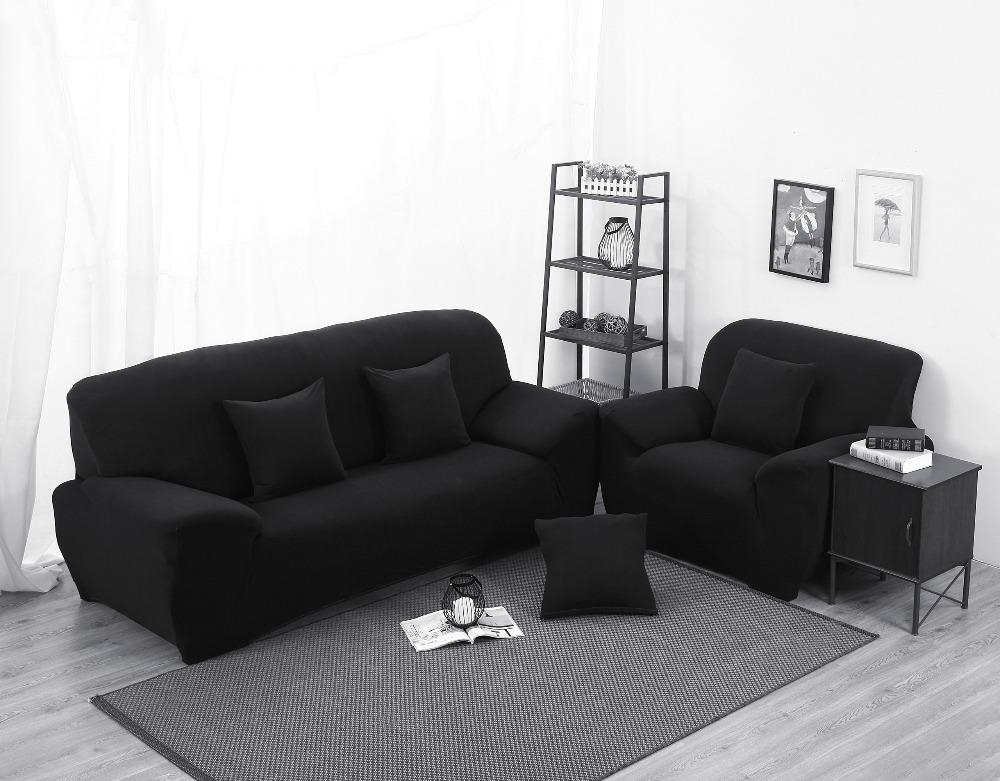 Compare Prices On Black Cover Sofa  Online Shopping/buy Low Price Within Sofas With Black Cover (Image 3 of 20)