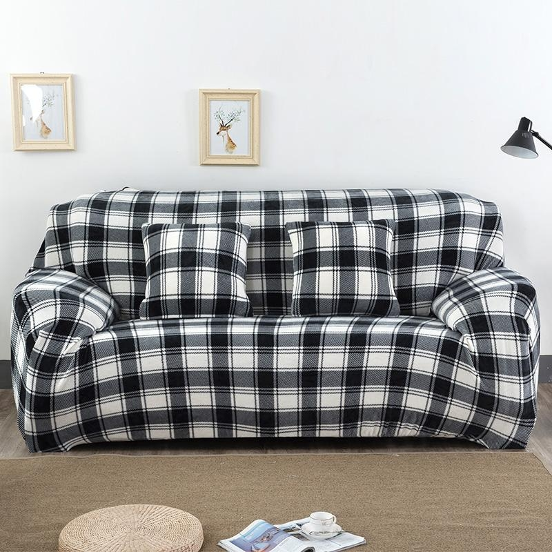 Compare Prices On Black Sofa Covers  Online Shopping/buy Low Price Inside Sofas With Black Cover (Image 5 of 20)