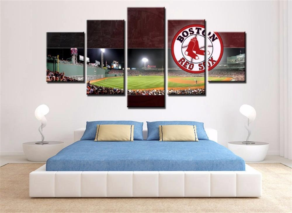 Compare Prices On Boston Wall Art Online Shopping/buy Low Price Regarding Boston Red Sox Wall Art (View 15 of 20)