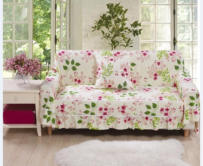 Compare Prices On Canvas Slipcovers  Online Shopping/buy Low Price Throughout Floral Slipcovers (Image 6 of 20)