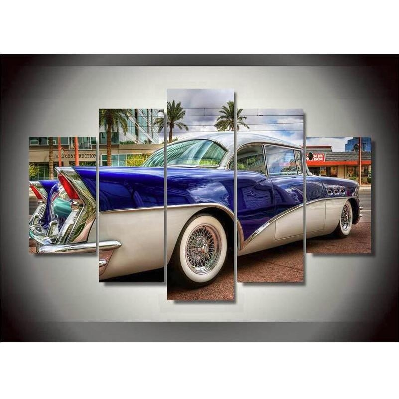 Compare Prices On Car Wall Art Online Shopping/buy Low Price Car Intended For Classic Car Wall Art (Image 9 of 20)
