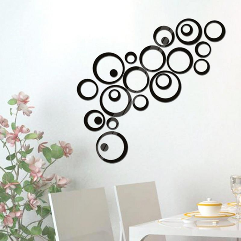 Compare Prices On Circle Wall Art  Online Shopping/buy Low Price With Regard To 3D Circle Wall Art (Image 14 of 20)