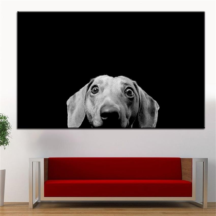 Compare Prices On Dachshund Wall Art Online Shopping/buy Low Intended For Dachshund Wall Art (View 6 of 20)