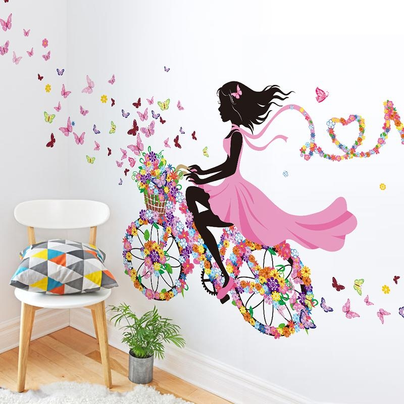 Compare Prices On Decal Wall Decor  Online Shopping/buy Low Price Inside Wall Art Stickers For Childrens Rooms (Image 9 of 20)