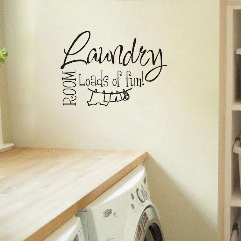 Compare Prices On Laundry Room Wall Art Online Shopping/buy Low Throughout Laundry  Room Wall Part 50