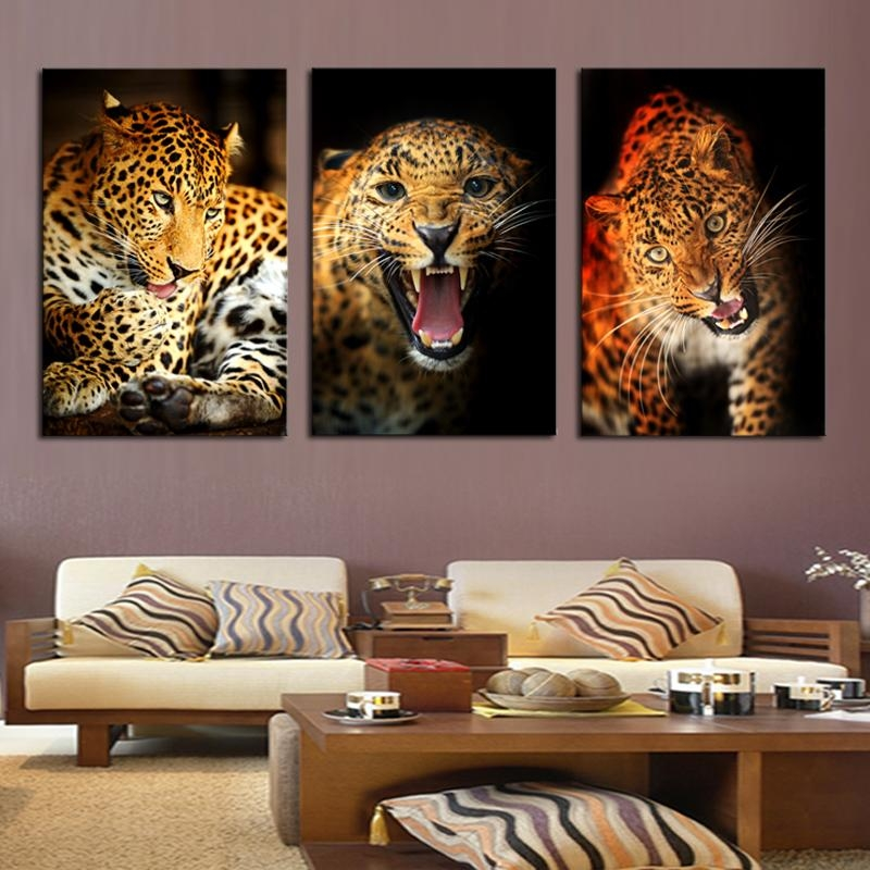 Compare Prices On Leopard Print Artwork Online Shopping/buy Low Within Leopard Print Wall Art (View 20 of 20)