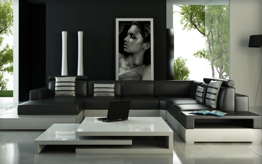Compare Prices On Sofa Set Color  Online Shopping/buy Low Price Inside Sofas Black And White Colors (Image 18 of 20)