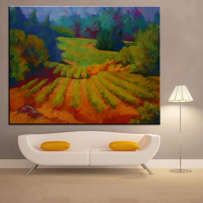 Compare Prices On Vineyard Wall Art  Online Shopping/buy Low Price With Vineyard Wall Art (Image 7 of 20)
