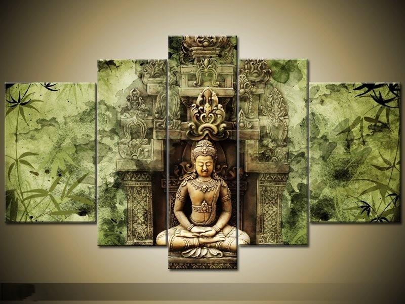 Compare Prices On Wall Buddha Painting Online Shopping/buy Low Throughout Large Buddha Wall Art (View 4 of 20)