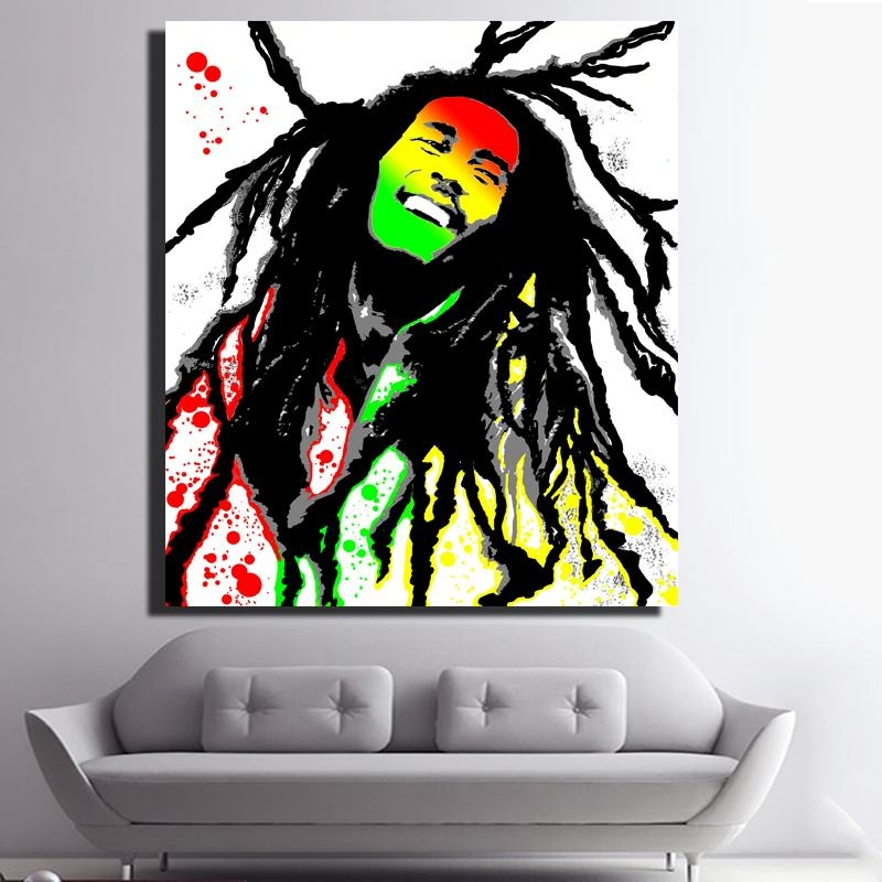 Compare Prices On Wall Canvas Bob Marley  Online Shopping/buy Low Regarding Bob Marley Wall Art (Image 17 of 20)