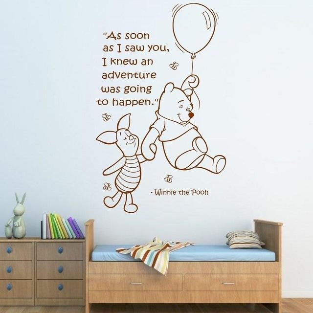 Compare Prices On Wall Paper Pooh Online Shopping/buy Low Price Within Winnie The Pooh Wall Art (View 13 of 20)