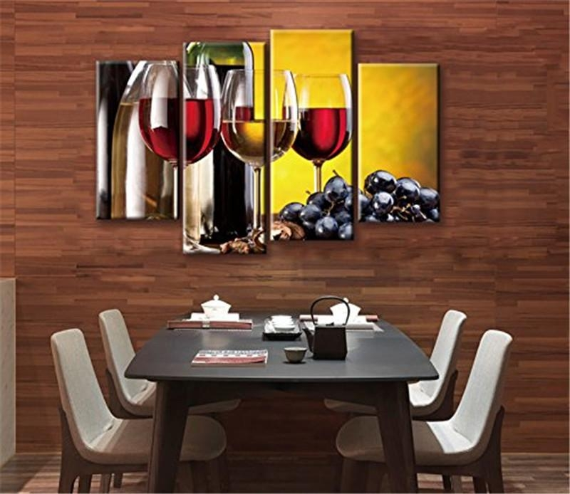 Compare Prices On Wine Grape Pictures  Online Shopping/buy Low With Regard To Grape Wall Art (Image 8 of 20)