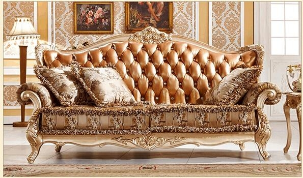 Compare Prices On Wood Carving Sofa Set  Online Shopping/buy Low In Carved Wood Sofas (Image 5 of 20)