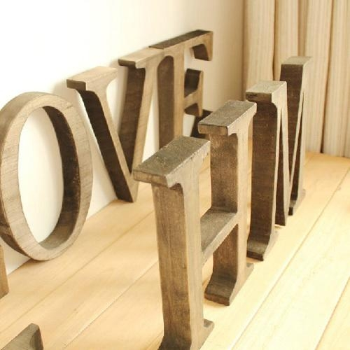 Compare Prices On Word Art Names  Online Shopping/buy Low Price Within Wooden Word Wall Art (Image 10 of 20)