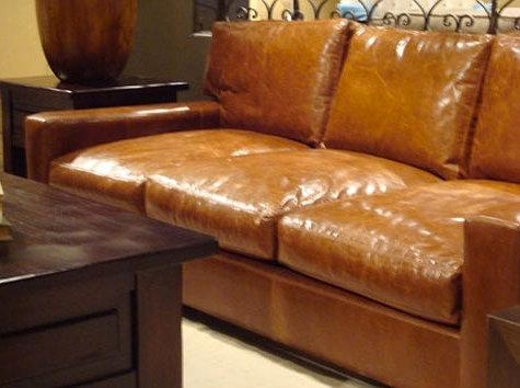 Considering: Caramel Leather – Design*sponge With Regard To Camel Color Sofas (Image 11 of 20)