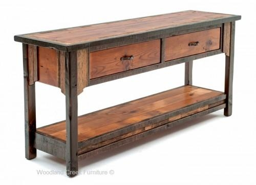 Console & Sofa Tables Archives – Page 2 Of 5 – Woodland Creek Regarding Barnwood Sofa Tables (Image 12 of 20)