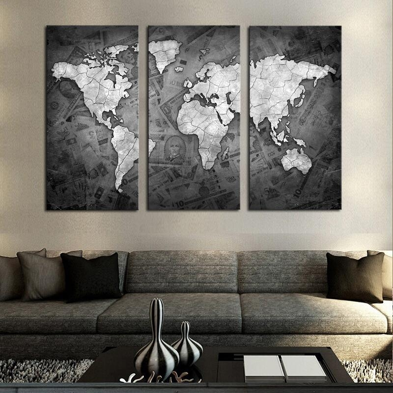 Contemporary Canvas Artwork Promotion Shop For Promotional Throughout Contemporary Wall Art (Image 8 of 20)