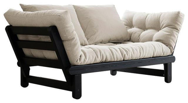 Contemporary Futon Sofa Bed | Roselawnlutheran With Single Futon Sofa Beds (Image 7 of 20)