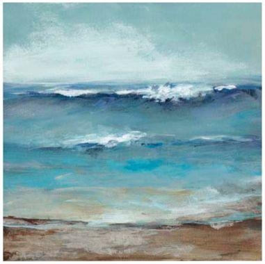 Contemporary Homethe Sea Coastal Giclee Canvas Wall Art Pertaining To Coastal Wall Art Canvas (Image 17 of 20)