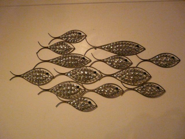 Contemporary Metal Wall Art Diamond Fish Shoal | Wall Art Intended For Shoal Of Fish Metal Wall Art (Image 6 of 20)