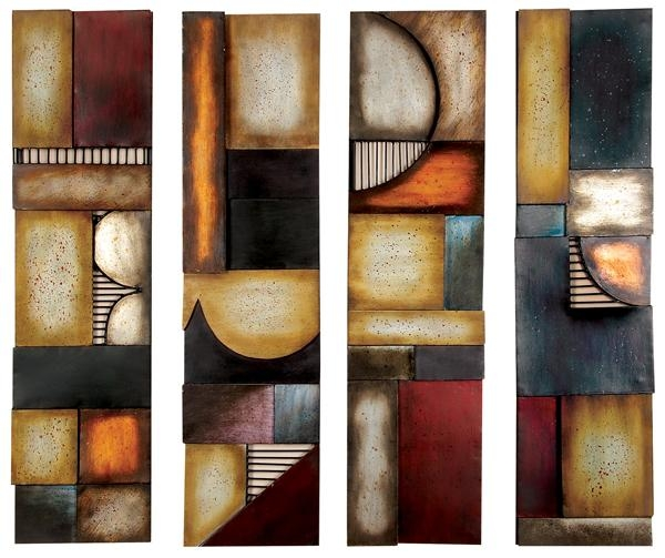 Contemporary Metal Wall Art & Modern Wall Art Decor With Regard To Contemporary Wall Art (Image 9 of 20)