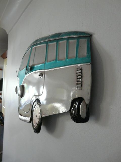 Featured Image of Campervan Metal Wall Art