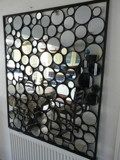 Contemporary Mirror Wall Decoration – Wall Decoration Pictures Throughout Funky Metal Wall Art (Image 8 of 20)
